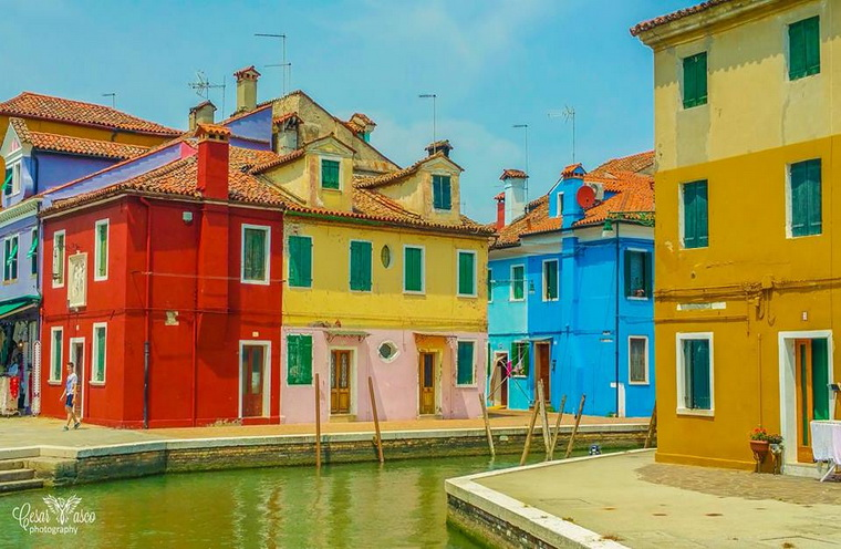 Burano…ready for the trip