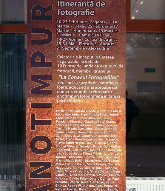"Vernisajul Expozitiei Itinerante ""Anotimpuri""  ajunge la Deva"