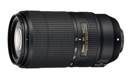 Nikon scoate pe piata, noul  AF-P Nikkor 70-300mm F4.5-5.6E ED VR, compatibil Full Frame